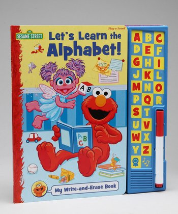 Learn the Alphabet Write & Erase Board Book Set