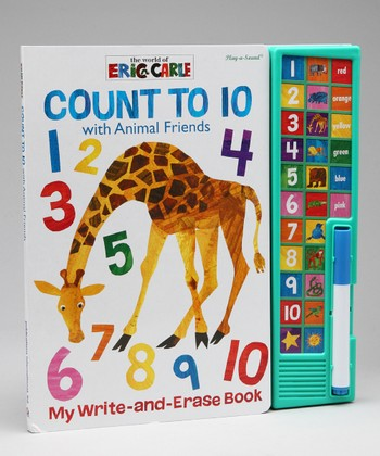 Eric Carle Count to 10 Write & Erase Board Book