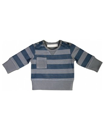Earl Gray Stripe Sweater - Infant