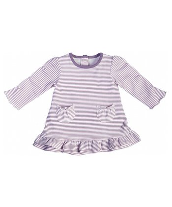 Heather Stripe Frill Dress - Infant & Toddler
