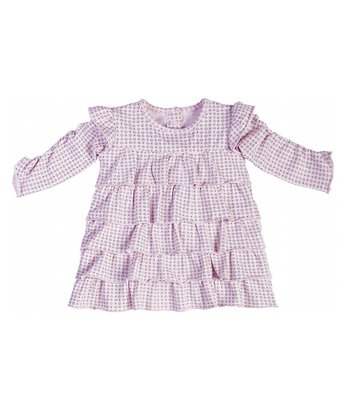 Pale Pink Ruffle Dress - Infant