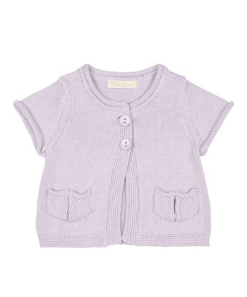 Lavender Cardigan - Infant & Toddler