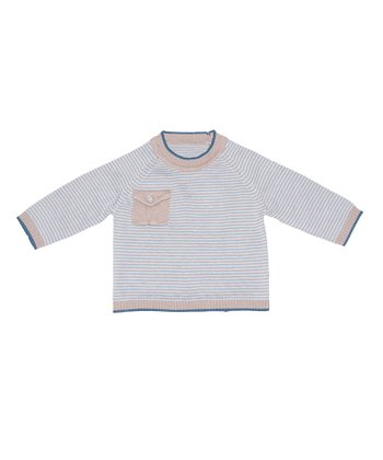 Fudge & Blue Stripe Moorland Top - Infant & Toddler