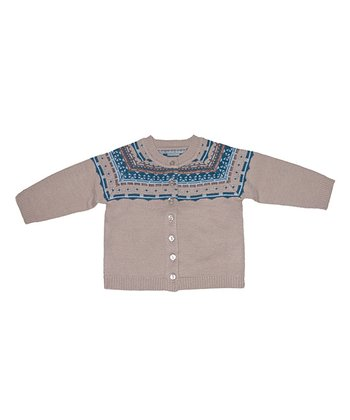 Fudge & Blue Bramble Cardigan - Infant