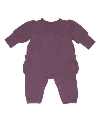 Plum Beatrice Playsuit - Infant