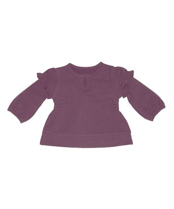 Plum Bell Top - Infant & Toddler