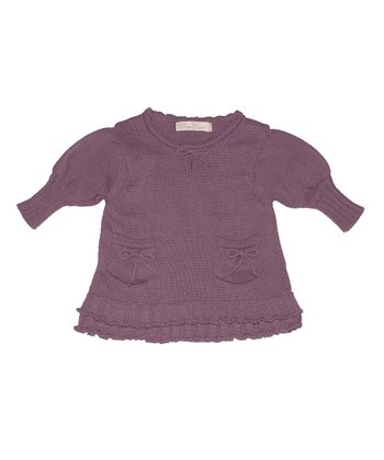 Plum Alice Dress - Infant & Toddler