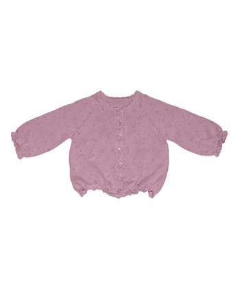 Vintage Rose Pointelle Cardigan - Infant, Toddler & Girls