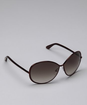 Bronze & Brown Iris Sunglasses