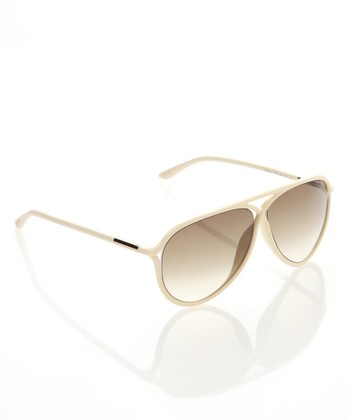 Ivory & Gold Stunner Sunglasses