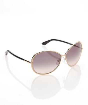 Gold & Black Iris Sunglasses