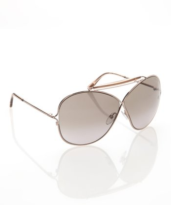 Gold & Brown Catherine Sunglasses