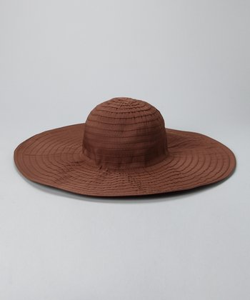 Brown San Tropez Sunhat