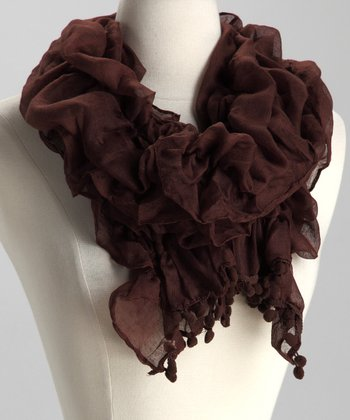Chocolate Monaco Scarf