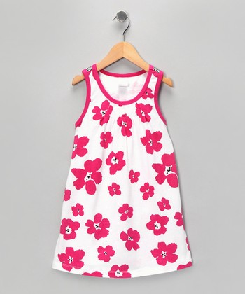 Pink Poppy Dress - Toddler
