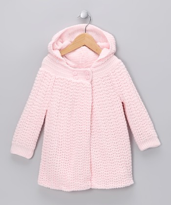 Pink Knit Cardigan - Infant