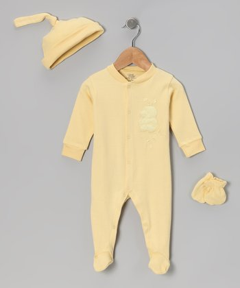 Yellow Ducky Footie Set