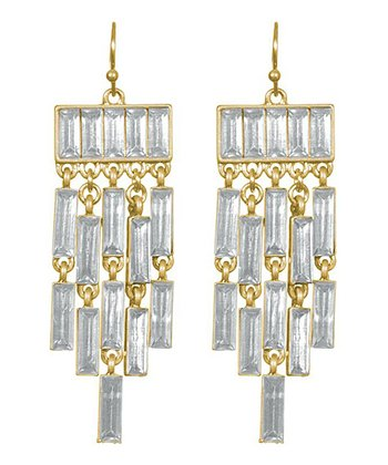 Clear Corrina Earrings