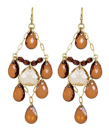 Smoky Topaz Maeagann Earrings
