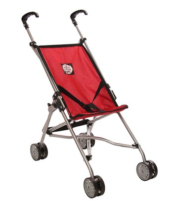 Red Umbrella Doll Stroller