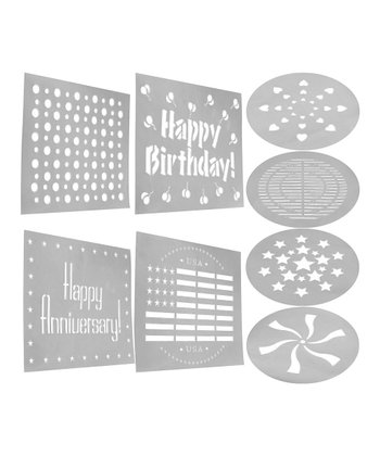 Smartware Decorating Stencil Set