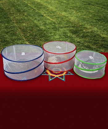 Pop-Up Outdoor Food Cover Set