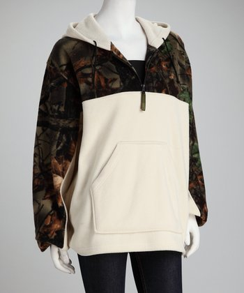 Trail Crest Birch Camo Fleece Hoodie - Women