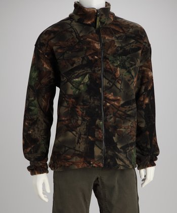Highland Timber Camo Sherpa Jacket - Men