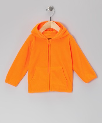 Orange Blaze Fleece Hoodie - Infant, Toddler & Boys