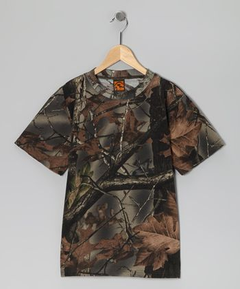 Timber Camouflage Short-Sleeve Tee - Boys