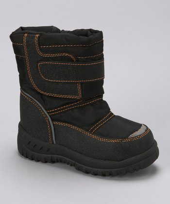 Black Stitch Boot