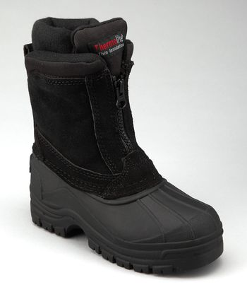 Black Seam Duck Boot