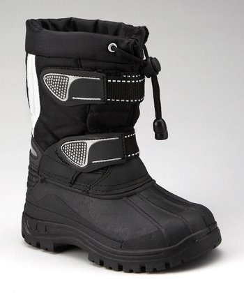 Black & White Toggle Boot