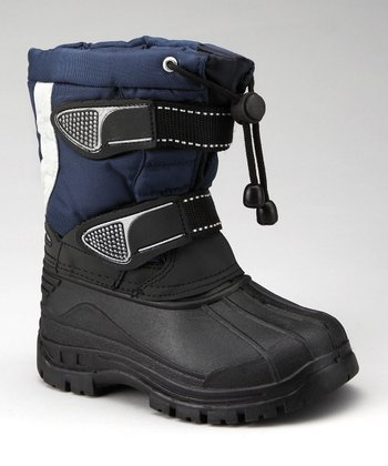 Navy & Black Duck Boot
