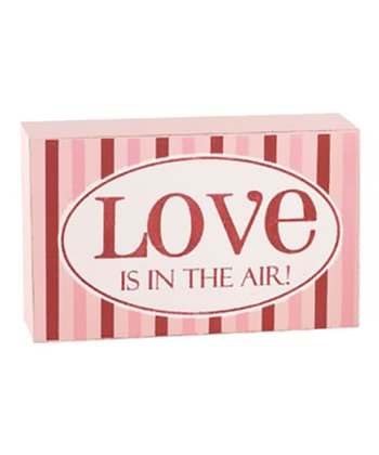 'Love is in the Air' Sentiment Block