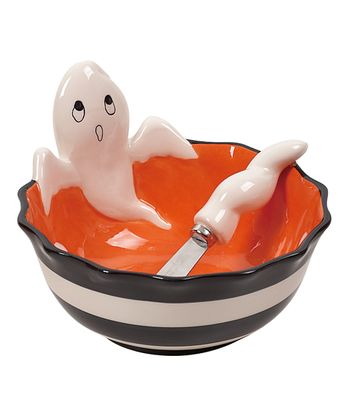 Ghost Bowl & Spreader - Set of Two