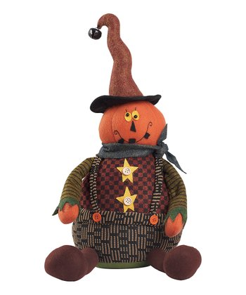Sitting Pumpkin Figurine