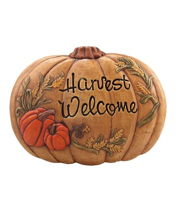 'Harvest Welcome' Wall Plaque