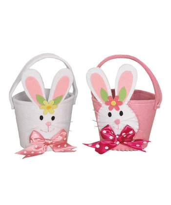 Small Bunny Basket Set