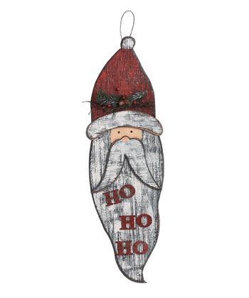 'Ho Ho Ho' Santa Wall Hanging