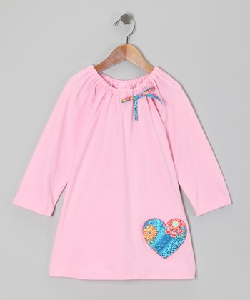 Pink Heart Aubrey Dress - Infant, Toddler & Girls