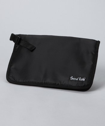 Black Diaper Clutch