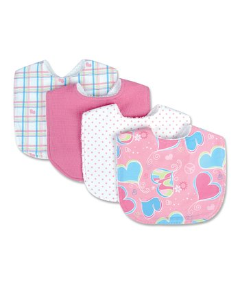 Groovy Love Bib Set