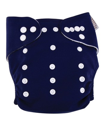 Navy All-in-One Cloth Diaper
