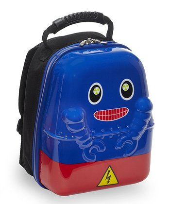 Blue Rusty Robot Backpack