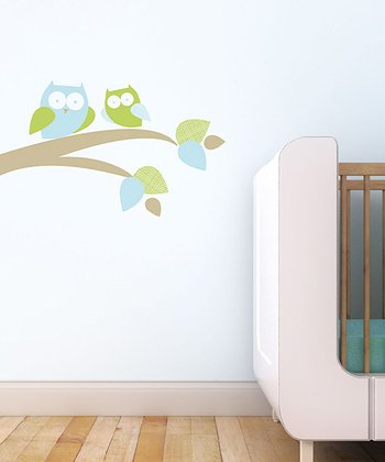 Mommy & Baby Owl Wall Decal Set