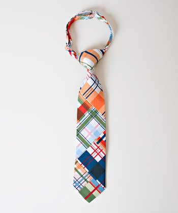 Red & Green Plaid Seaside Tie