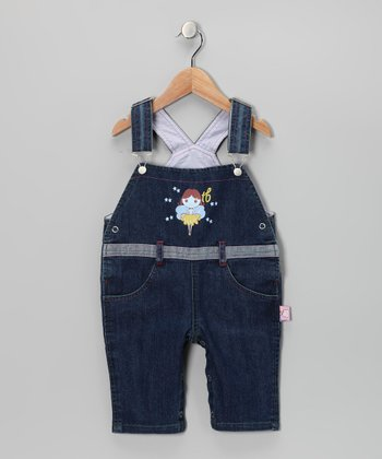 Denim Fairy Overalls - Infant