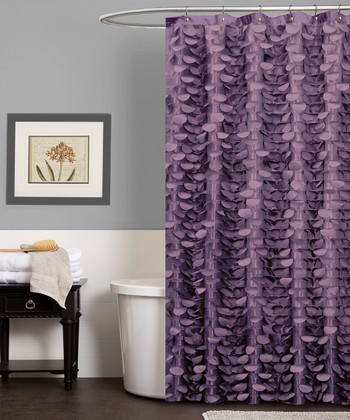 Purple Georgia Shower Curtain