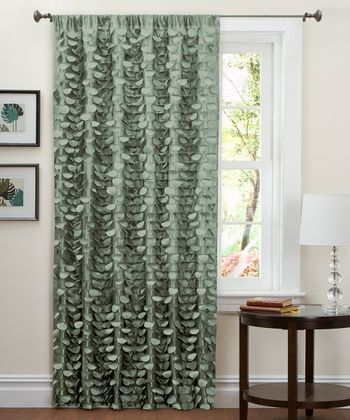 Sea Green Lillian Curtain Panel